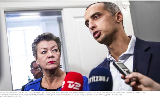 Regeringens Absurde Teater Om Europæisk Asylreform