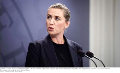 Frygt Alene Statsministerens Frygtpropaganda
