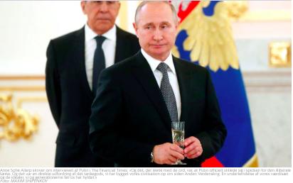 Putin har givet bolden op, hvad svarer vi?